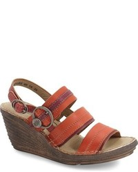 Salm wedge sandal medium 623626