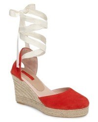 Topshop Warmth Espadrille Wedge