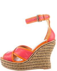 Lanvin Wedge Sandals