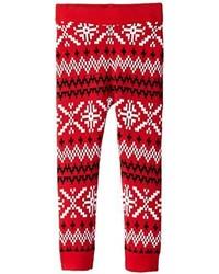 Alex Stevens Girls Slothy Christmas Legging