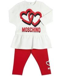 Moschino Cotton Jersey Top Leggings Set