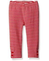 Gymboree Girls Red Striped Legging