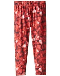Pumpkin Patch Little Girls Strawberry Printed Leggings