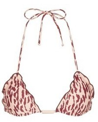 Vix Bali Ripple Print Triangle Bikini Top