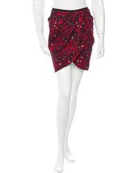 Printed mini skirt medium 3649211