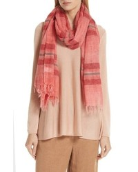 Eileen Fisher Stripe Wool Blend Scarf