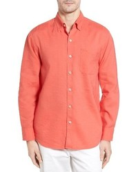 Tommy Bahama Monaco Tides Linen Blend Sport Shirt