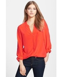 Red long sleeve blouse original 10019247
