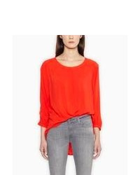 Levi s easy blouse fiery red medium 79321