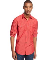 INC International Concepts Arnold Solid Shirt