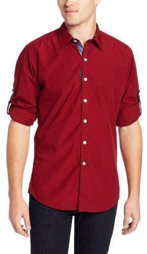 Robert Graham Centaur Roll Sleeve Woven Shirt