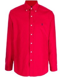 Polo Ralph Lauren Embroidered Pony Long Sleeve Shirt