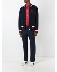 ff19f5fc9 Gucci Ghost Duke Shirt, $875 | farfetch.com | Lookastic.com