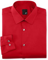 JF J.Ferrar Jf J Ferrar Easy Care Dress Shirt Super Slim