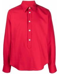 Wales Bonner Pointed Collar Organic Cotton Shirt