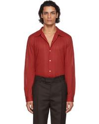 Séfr Red Ripley Shirt