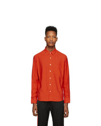 AMI Alexandre Mattiussi Red Summer Fit Shirt
