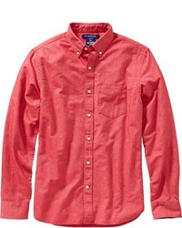 Old Navy Slim Fit Solid Oxford Shirts