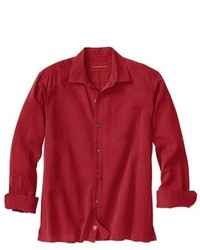 Tommy Bahama Solid Bronte Silk Wool Sport Shirt