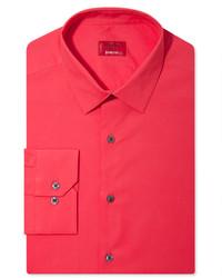 Alfani Spectrum Slim Fit Solid Dress Shirt