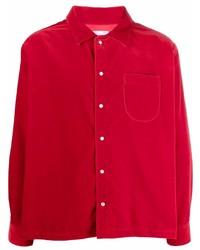 ERL Velour Long Sleeve Shirt