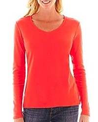 Red long sleeve t shirt original 1284927