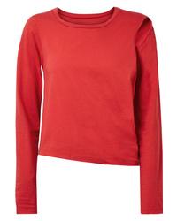 MM6 MAISON MARGIELA Convertible Cutout Stretch Cotton Jersey Top