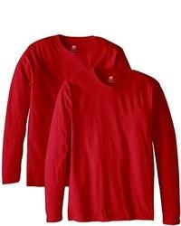 Hanes Long Sleeve Premium T Shirt