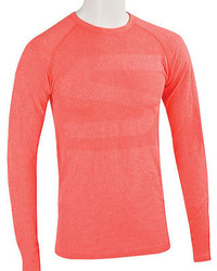 Skechers Pacific Seamless First Layer Long Sleeve Tee Shirt Red Baselayers