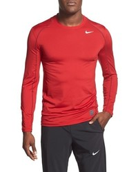 Nike Pro Coo Fitted Long Sleeve Dri Fit T Shirt