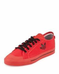 Adidas By Raf Simons Matrix Spirit Low Top Sneaker Redblack