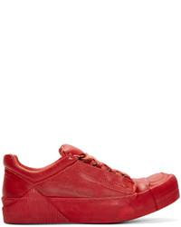 Boris Bidjan Saberi Red Horse Leather Bamba 2 Sneakers