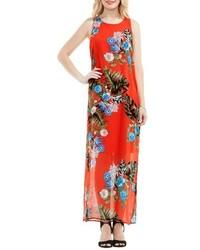 Vince Camuto Petite Havana Tropical Maxi Dress
