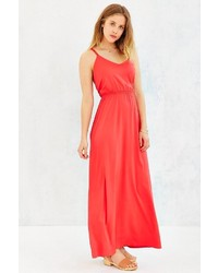 Silence & Noise Silence Noise Strappy Cross Back Maxi Dress