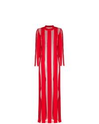 MARQUES ALMEIDA Marquesalmeida Sheer Stripe Maxi Dress