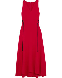 Red midi dress original 9932818