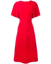 Valentino Crepe Midi Dress