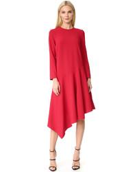 Edit Asymmetric Midi Dress