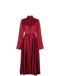 Beaufille Flared Sleeved Midi Dress