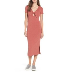 Dee Elly Knot Front Midi Dress