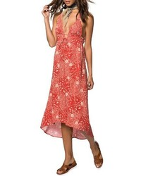 O'Neill Libre Halter Midi Dress