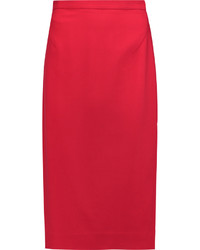 Red midi skirt original 1472199