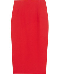 Alexander McQueen Crepe Pencil Skirt
