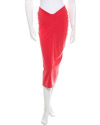 Jil Sander Midi Pencil Skirt