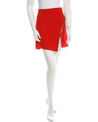 Versace Asymmetrical Mini Skirt
