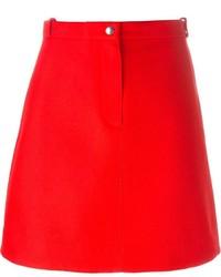 Carven A Line Mini Skirt