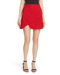 Alice + Olivia Dasia Asymmetrical Miniskirt
