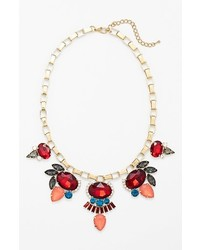 Cara Stone Frontal Necklace