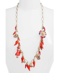 Kate Spade Haute Stuff New York Pepper Station Necklace