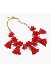 J.Crew Honeymoon Tassel Necklace